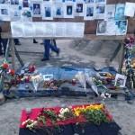 Minnesmarkering Maydan Kiev