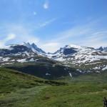 På vei over Sognefjellet