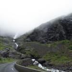 Trollstigen - med lavt skydekke