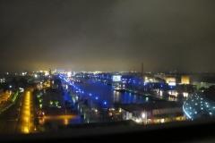 Bremerhaven om kvelden