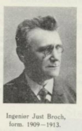 Ing Just Broch Hamar Folkebiblioteks styre 1909-1913