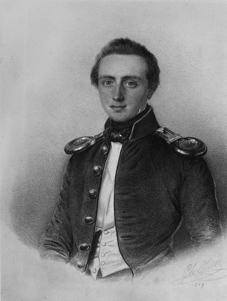 Sekondløinant Broch, Lars Marius Bing (1849)