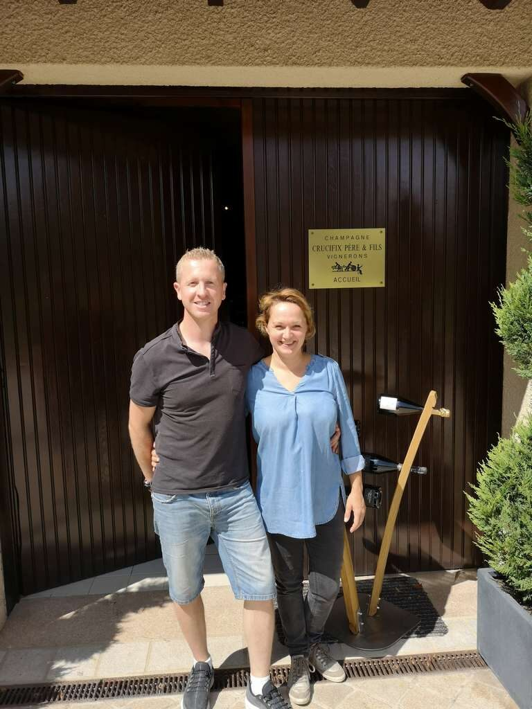 Champagne Cruxcifix - Sébastien og Carole