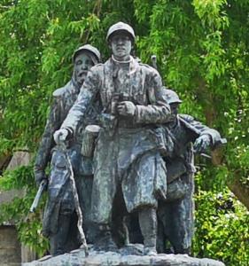 Monument for de falne - La dernière relève