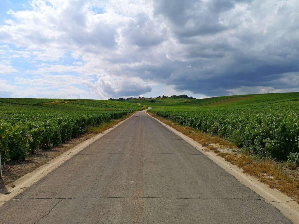 Veien opp til Mutigny